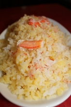 Riz au crabe
